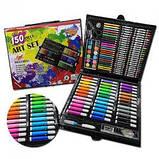 Великий набір для малювання на 150 предметів, набір для творчості, фото 6