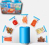 Вакуумный упаковщик для еды, вакуумные пакеты для еды, фото 2
