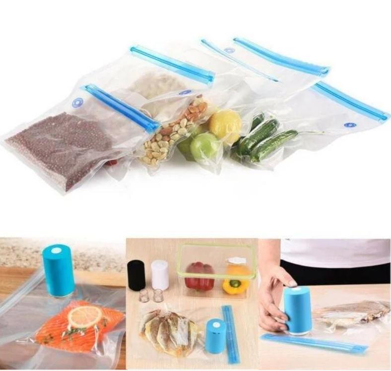 Вакуумный упаковщик для еды, вакуумные пакеты для еды