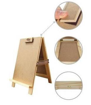 Мольберт настільний Rosa Studio,хлопавка,сосна, 22х23х38 см, висота 30см №GPT50045602