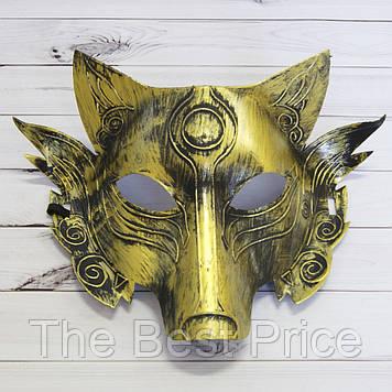 Маска Аматерасу (золото)