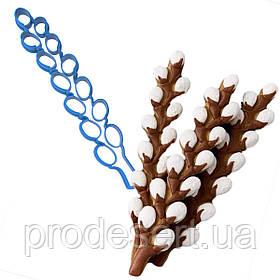 Вирубка для пряників Гілочка верби 16,7*3 см (3D)