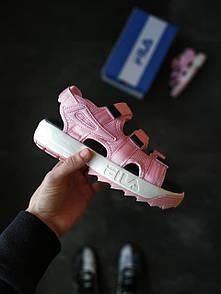 Женские сандали Fila Sandals Pink/White/Black