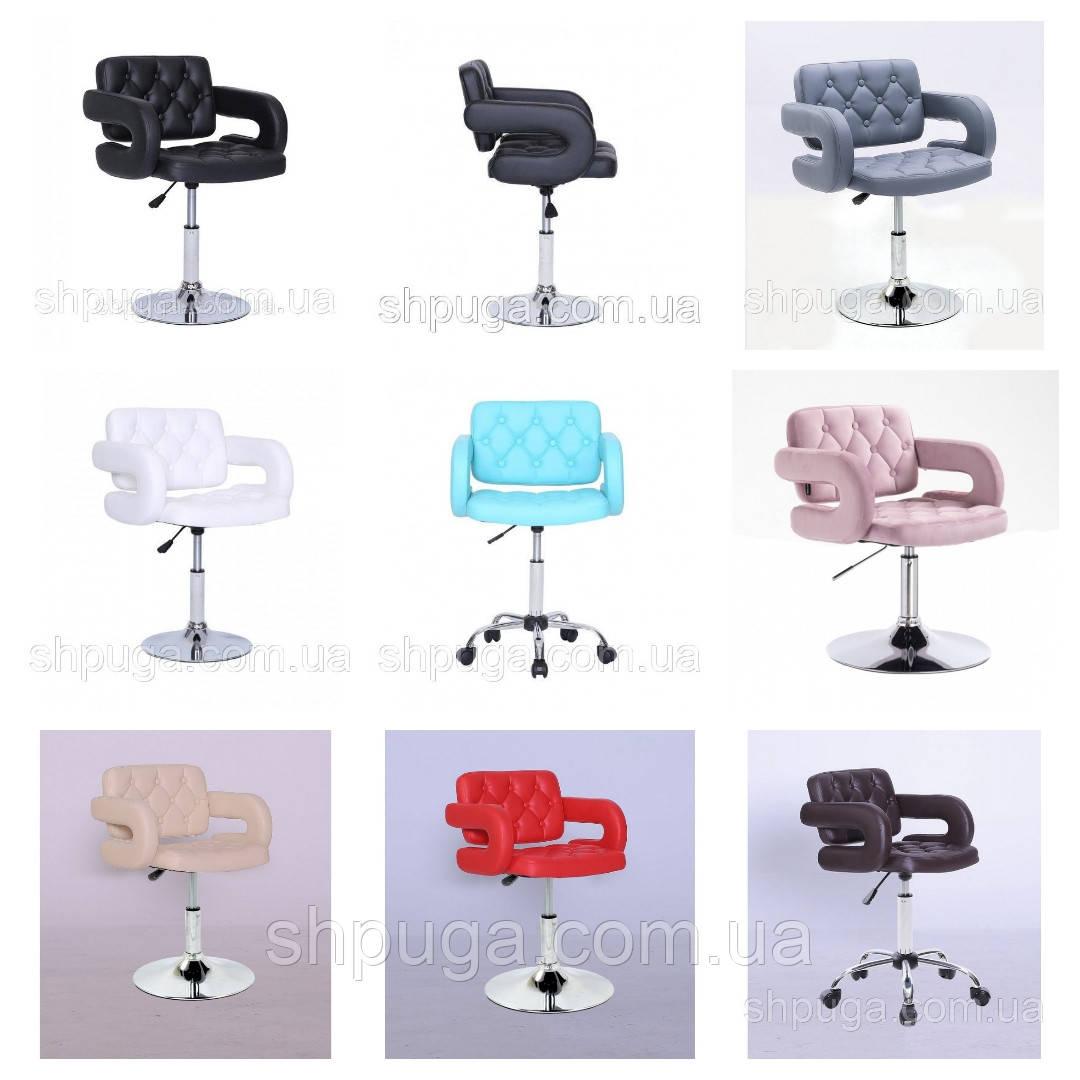 Парикмахерское кресло , кресло для мастера маникюра код 8403  цвет на выбор.