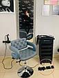 Парикмахерское кресло , кресло для мастера маникюра код 8403  цвет на выбор., фото 3