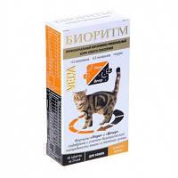 БИОРИТМ для кошек со вкусом курицы - витаминно-минеральный комплекс , 48 таблеток по 0,5 гр.