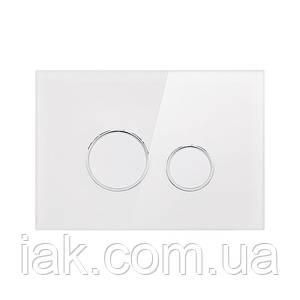 Панель змиву для унітаза Qtap Nest QT0111V1164GW