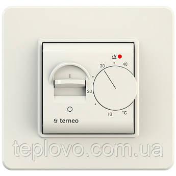Терморегулятор механічний terneo mex (слонова кістка) для теплої підлоги