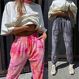 Костюм женский в стиле дай-тай: футболка и штаны цветные (в расцветках)