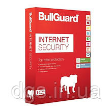 Антивирус Bullguard Internet Security 1 device 1 year Global