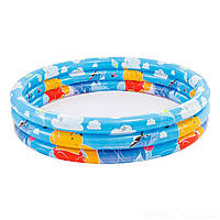 Детский надувной бассейн Intex 58915 «Винни Пух», (размер 147*33 см) (разные рисунки)