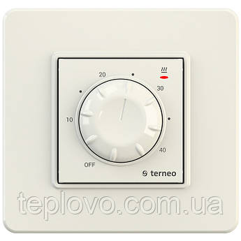 Терморегулятор механический terneo rtp (cлоновая кость) для теплого пола