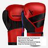 Боксерські рукавички Hayabusa S4 - Червоні 14oz (Original) M Шкіра, фото 2