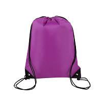 Сумка-мешок/рюкзак городской, для спортивной формы и сменной обуви «4 Сезона» (фиолет)