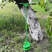 Бур ручний садовий будівельний шнековий 200 мм