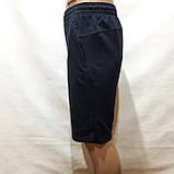 М,L,XL р  Шорты удлиненные мужские трикотажные Everest до колена х/б темно-синие Турция, фото 6