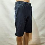 М,L,XL р  Шорты удлиненные мужские трикотажные Everest до колена х/б темно-синие Турция, фото 3
