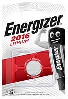 Батарейка литиевая Energizer CR 2016 Lithium (CR2016) 3V 1шт.