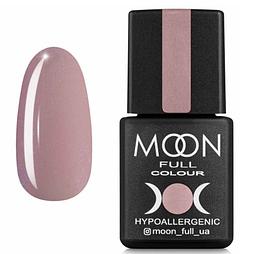 MOON FULL Baza French №16 - база для гель лака, 8 мл. (розовый с мелким Шиммер)