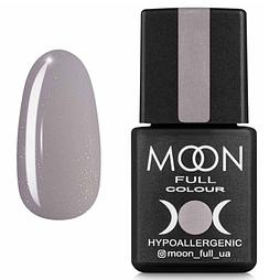 MOON FULL Baza French №17 - база для гель лака, 8 мл. (серый с мелким Шиммер)