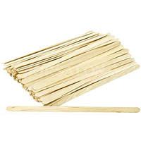 Шпателя деревянные узкие 50 шт