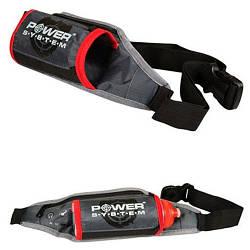 Сумка набедренная Power System Sport Belt Bag Gym Mate PS-7001 Grey/Pink