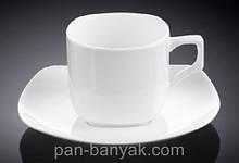Чашка чайная с блюдцем Wilmax  200мл фарфор (993003 WL)