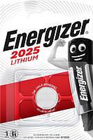 Батарейка Energizer CR2025 Lithium 1 шт