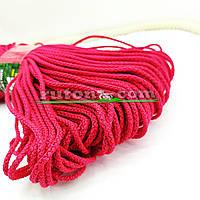 Червоний м'який шнур для в'язання килима 3 мм 100 м