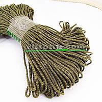 Колір хакі м'який шнур для в'язання килима 3 мм 100 м