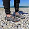 РОЗМІРИ 46, 47 Сірі аквашузи чоловічі і жіночі коралки аквавзуття шльопанці для моря аква взуття сліпони, фото 6