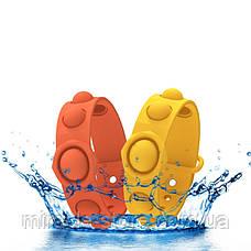 Игрушка Pop it ПопИт антистресс 3*17см браслет одноцветный сенсорная игрушка Simple Dimple симпл димпл, фото 2