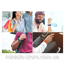 Игрушка Pop it ПопИт антистресс 3*17см браслет одноцветный сенсорная игрушка Simple Dimple симпл димпл, фото 3
