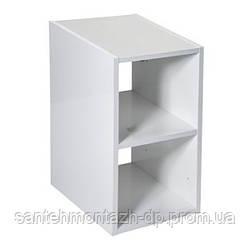 VICTORIA BASIC мебельный модуль 30см, без дверцы, белый глянец