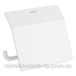 ADDSTORIS держатель туалетной бумаги с крышкой, цвет белый матовый