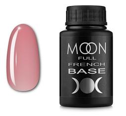 MOON FULL Baza French №01 - база для гель лаку, 30 мл. (світло рожевий)