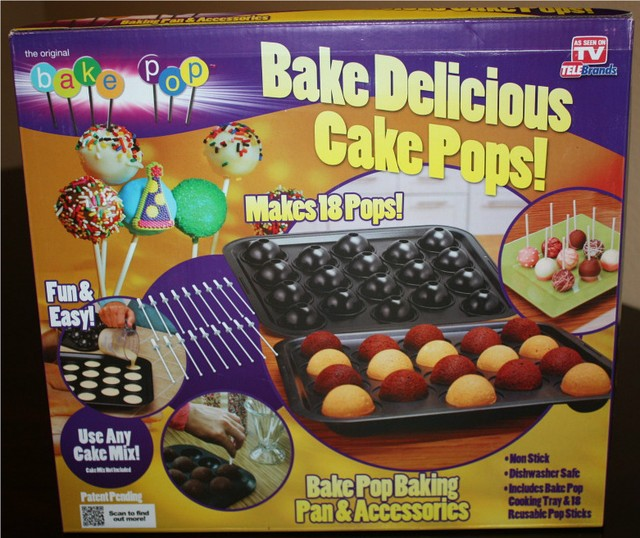 Формочки для випічки BAKE DELICIOUS CAKE POPS