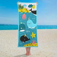 Полотенце Морские жители 150х70 см