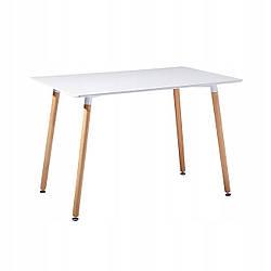 Стіл обідній Homart DT-002 120х80 см білий (9376)