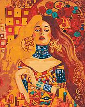 Картины по номерам люди девушка 40х50 Поэзия