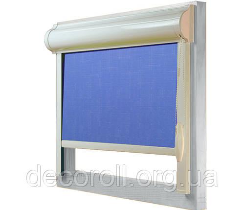 Закриті рулонні штори в коробі, з направляючими Uni-2, фото 2