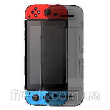 Чехол Baseus для игровой консоли Nintendo Switch - GS07 Basic Case, Black (WISWGS07-01)