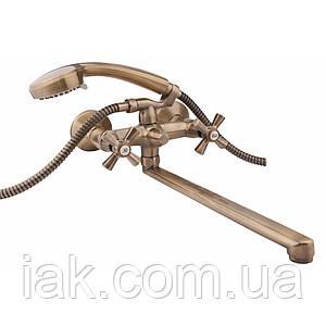 Змішувач для ванни Qtap Liberty ANT 140
