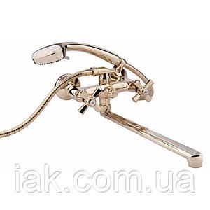 Змішувач для ванни Qtap Liberty ORO 140