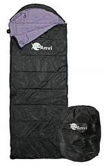 Спальник Anvi - Черный - 200x70 см - Лето