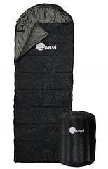 Спальник Anvi  - Черный лаковый - 200x70 см - Весна-Осень