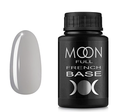 MOON FULL Baza French №11 - база для гель лаку, 30 мл. (Сірий)