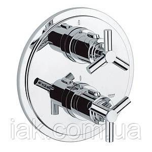 Зовнішня частина термостатичного змішувача для душу Grohe Atrio 19394000 для двох споживачів