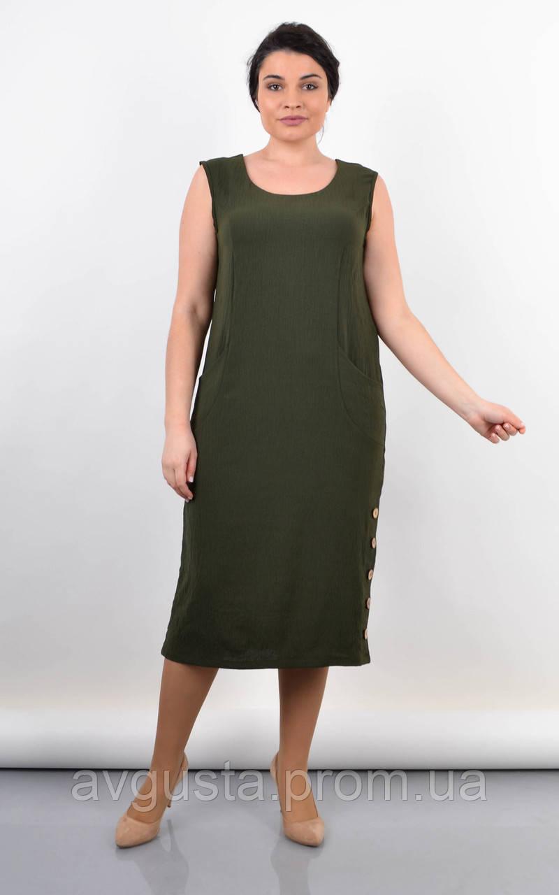 Сукня Венера олива