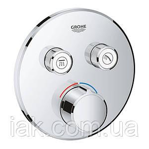 Зовнішня частина змішувача для душу Grohe SmartControl 29145000 для двох споживачів